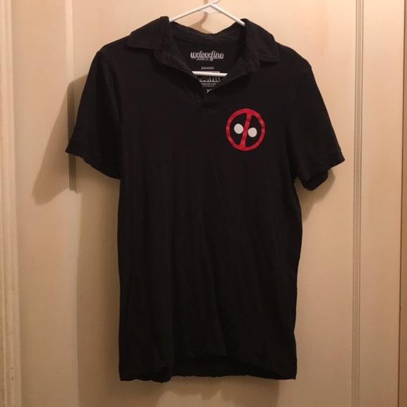 0cca724a1 Marvel Shirts | Deadpool Polo Shirt | Poshmark